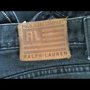 POLO RL Ralph Lauren BLACK vintage 👖 jeans 4/32